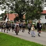 Festzug Bezirksmusikfest Unterdarching 2012