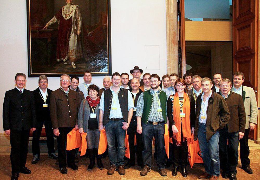 Besuch des Bayerischen Landtags