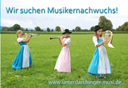 Flyer Bläserklasse der Unterdarchinger Musi