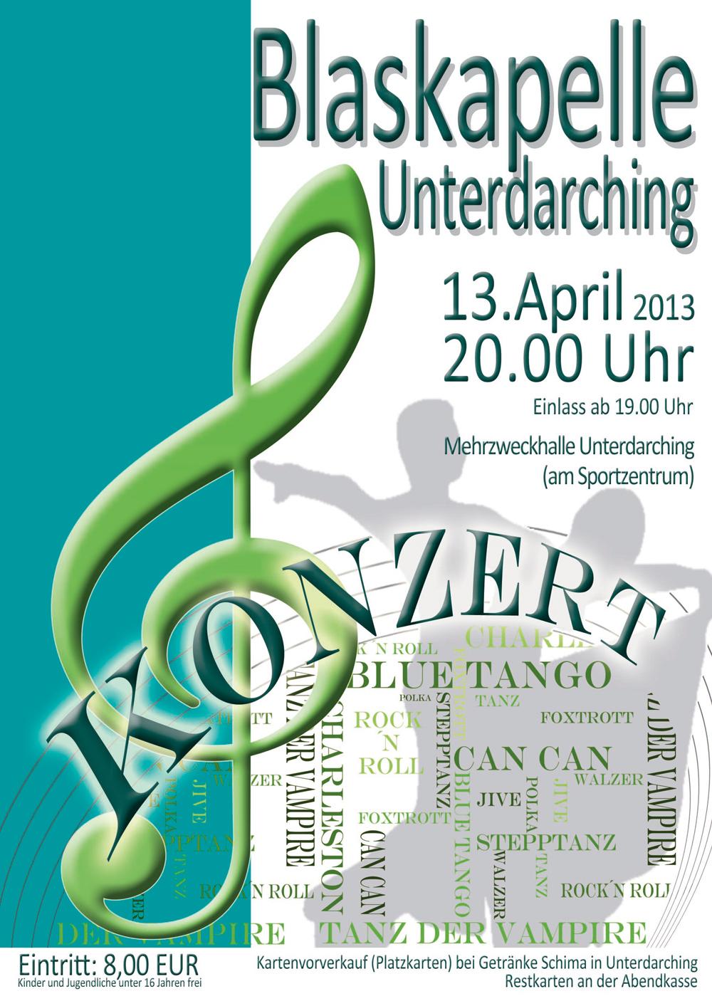 Konzert der Unterdarchinger Musi 2013