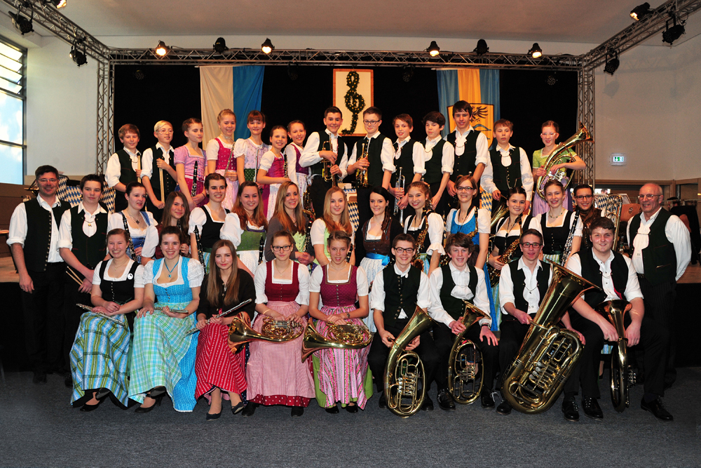 Jugendkonzert der Blaskapelle Unterdarching e.V. 2013
