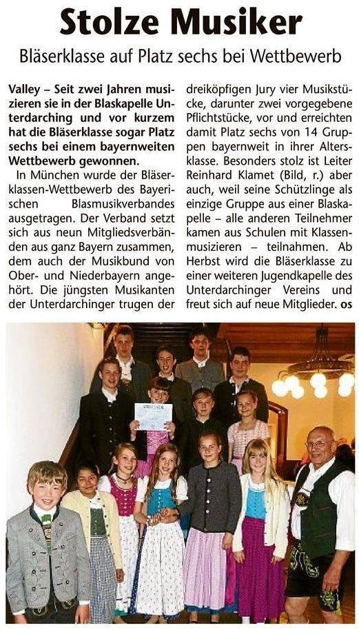 Pressebericht_Gelbes-Blatt_Blaeserklassenwettbewerb_2014
