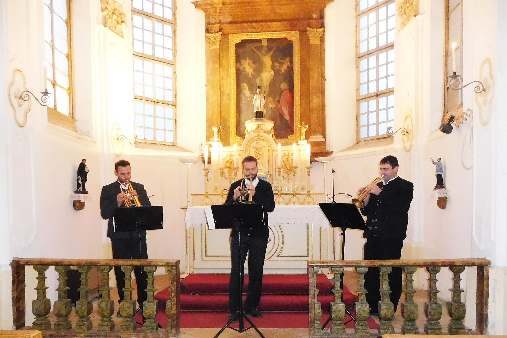 Trompeten-Ensemble-Unterdarchinger-Musi