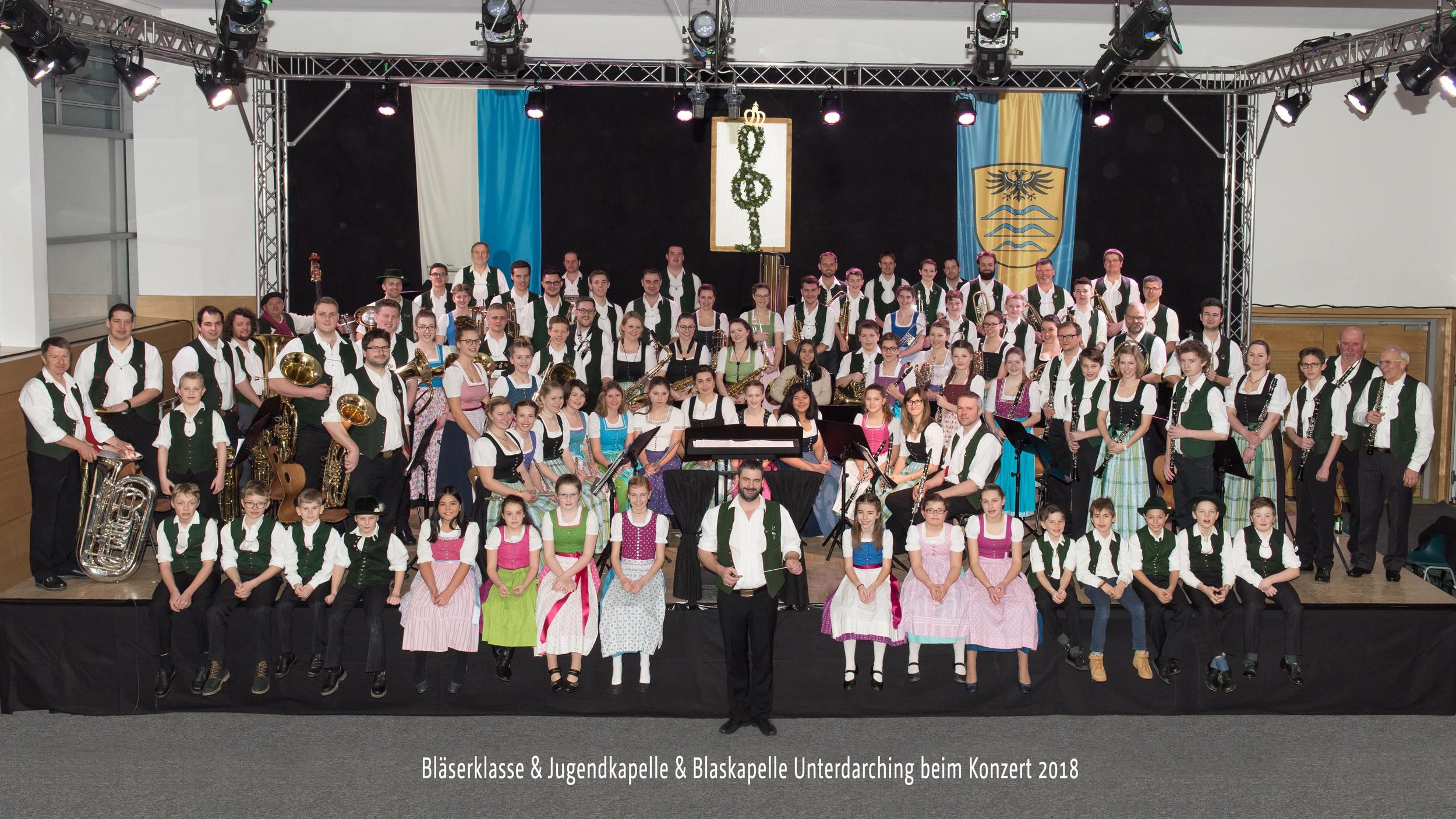 Konzert der Blaskapelle Unterdarching 2018