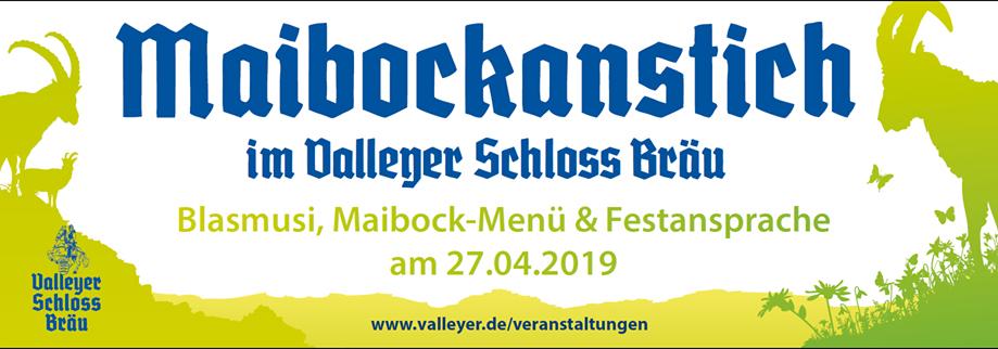 Valleyer Schlossbräu, Schlossbräu Valley, Maibock, Maibockanstich, Bier, Blasmusik, Musik, Valley, Graf Arco Bier
