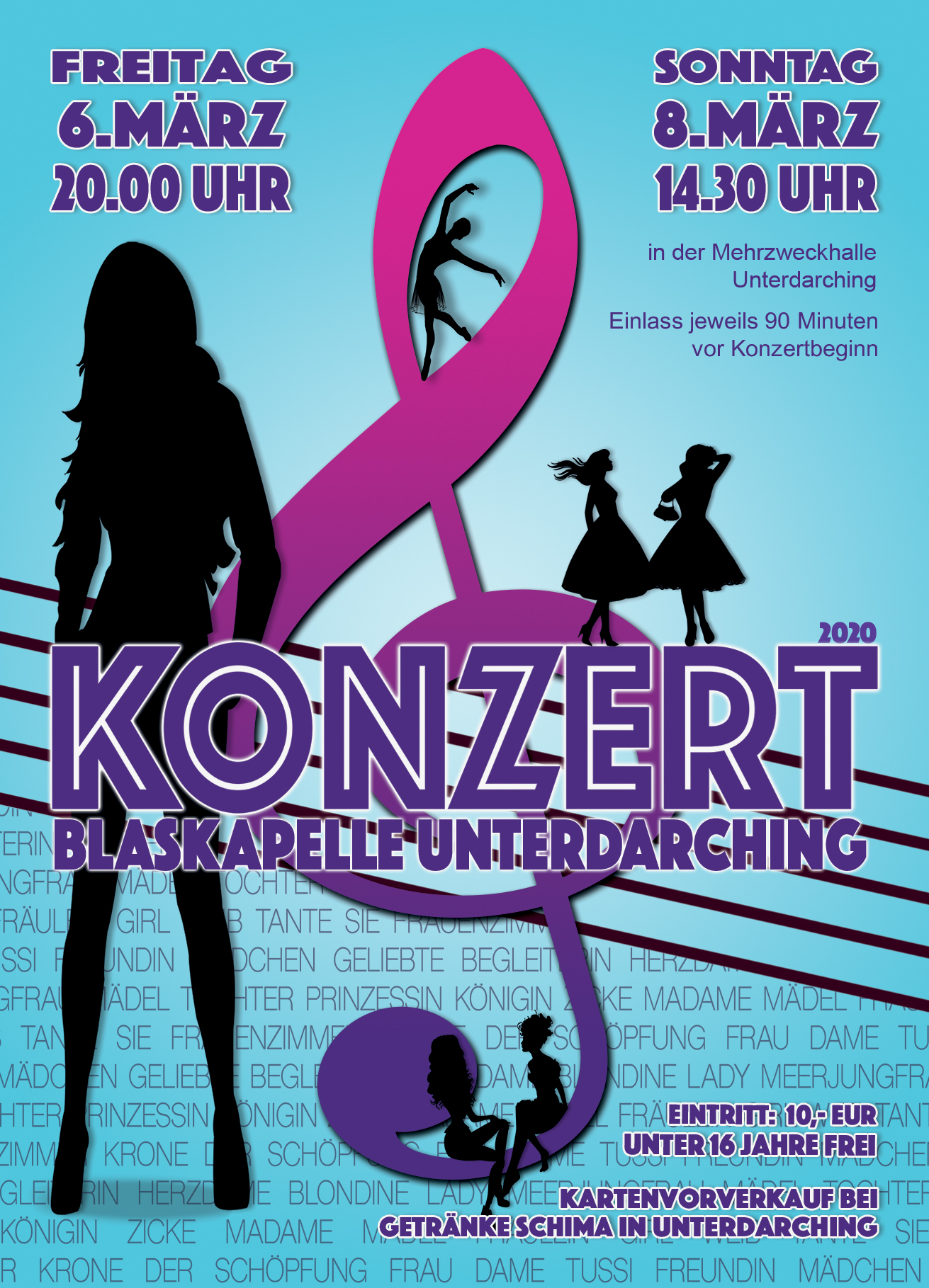 Konzert 2020 - Blaskapelle Unterdarching